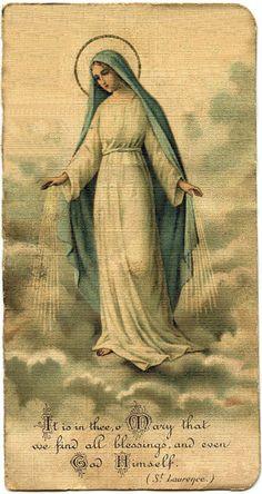 Minha mãe Maria Santíssima, esteja sempre comigo, em minha casa, nos meus dias, no meu coração. <3