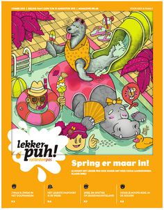 Lekker Puh Magazine by LJ, via Behance