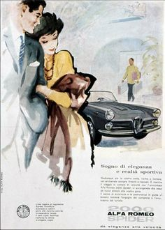 Alfa Romeo Spider 2000 (1958-1962)  Had one of these in college days