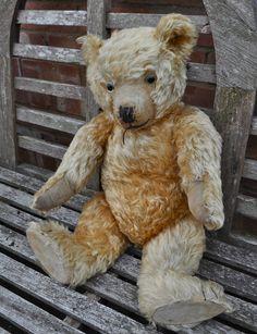 A Lovely Antique Vintage Chiltern Hugmee Mohair Teddy Bear 1930s | eBay