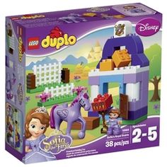 Конструктор классический LEGO Duplo 10594 Королевская конюшня Софии Прекрасной