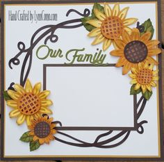 You'll never need another paper flower again! Love the sunflowers which are all cut on one key in a few colors. Scrapbook Patterns, Baby Scrapbook Pages, Baby Boy Scrapbook, Birthday Scrapbook, Scrapbook Designs, Wedding Scrapbook, Scrapbook Sketches, Scrapbook Page Layouts, Scrapbook Albums