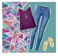 """""""Kaleidoscope"""" by vogue-vibe ❤ liked on Polyvore featuring H&M, River Island, Sergio Rossi and ChloBo"""