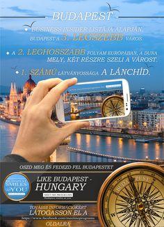 """""""LIke Budapest Hungary"""" - Reklám"""