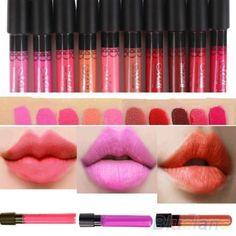 2015 Hot Selling Women Sexy 36 Colors Makeup Waterproof Lip Pencil Lip Gloss Lipstick Lip Pen  7GPN #Affiliate