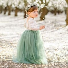 A stunning tea length dress fit for a princess! Made from the softest stretchy lace bodice & tulle skirt. Corsage, Very Jane, Girls Dresses, Flower Girl Dresses, Tea Length Dresses, Cute Outfits For Kids, Lace Bodice, Kids Wear, Kids Fashion
