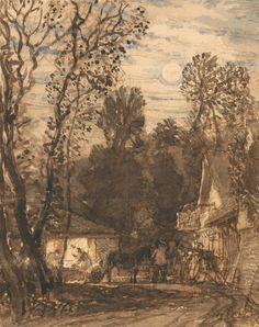 The Wayside Smithy Samuel Palmer(British, 1805-1881)