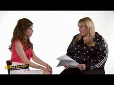 MAX 60 Seconds with Anna Kendrick (PITCH PERFECT) @Michael Blasco @Tiffany Blasco