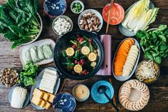 Vegan Hot Pot - by Madeline Lu @lumadeline