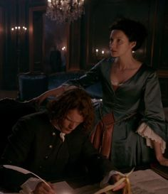 Jamie is not pleased to learn that Claire has started volunteering at a charity hosptial
