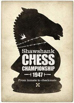 Shawshank Chess Championship Print