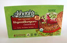 Asherah's Gourmet Vegan Burgers. Chipotle Flavor