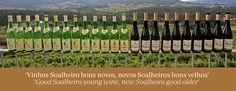 'Vinhos Soalheiro bons novos, novos Soalheiros bons velhos' 'Good Soalheiro young wine, new Soalheiro good older' #Soalheiro #Alvarinho #Sparkling #Albarino