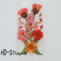 Pressed flower iphone 6 case real flower iphone 6/ 6s by wiwigift