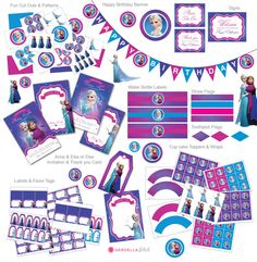 Frozen Birthday Party Frozen Invitation  Ice por GardellaGlobal, $6.00