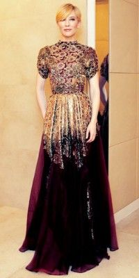 Cate Blanchett in vintage Christian Lacroix