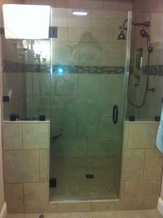 4 X 6 Shower Design. 4  x 6 tiled shower definitely adding in a second head Shower HansGrohe fixtures 3x6 white subway tiles by