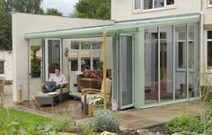 Modern Conservatory | Veranda Conservatories | Contemporary Conservatory from Clearview ...