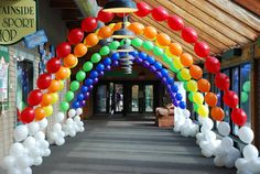 Balloon Creations, serving Worcester County and more! I think our arches will look more like this