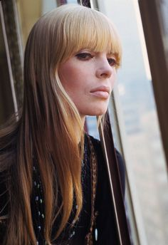 Nico, singer in The Velvet Underground and one of Andy Warhol's Superstars!