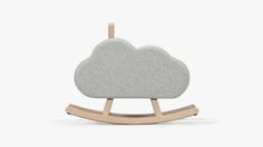 Iconic Cloud / Rocking Cloud / Rocking horse by Pia Weinberg Diy For Kids, Gifts For Kids, Original Gifts, Kids Room Design, Room Kids, Baby Kind, Fun Baby, Rocking Chair, Rocking Horses