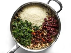 Greek Turkey and Rice Skillet - One Pot Meal - Budget Bytes Kitchen Recipes, Cooking Recipes, Turkey Stir Fry, Greek Rice, Greek Turkey Burgers, Greek Dishes, How To Cook Rice, Ground Turkey Recipes, Dried Tomatoes