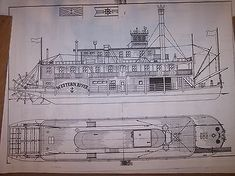 My Boats Plans - stern wheel river boat ship boat model boat plans Master Boat Builder with 31 Years of Experience Finally Releases Archive Of 518 Illustrated, Step-By-Step Boat Plans E Boat, Duck Boat, Model Boat Plans, Boat Building Plans, Wooden Ship Model Kits, Flat Bottom Boats, Show Boat, Building A Container Home, Tug Boats