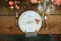 marble place card