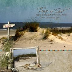 Seashore - Digital Scrapbook Place Gallery