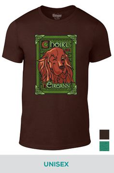 Unisex Gaelic 'Bark of the Irish' Tee