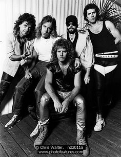 Night Ranger met them in August 1984 with my crazy friend Annette and saw them & hung out with them several concerts later.