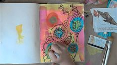 Creative Art Journaling - Love to Doodle