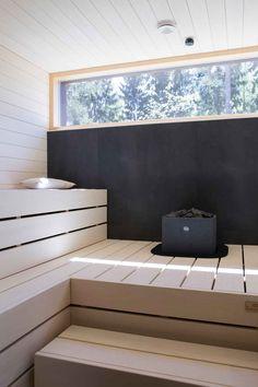 Combine sauna and ofuro? Sauna Infrarouge, Sauna House, Steam Sauna, Sauna Room, Design Sauna, Outdoor Sauna, Finnish Sauna, Spa Rooms, Saunas