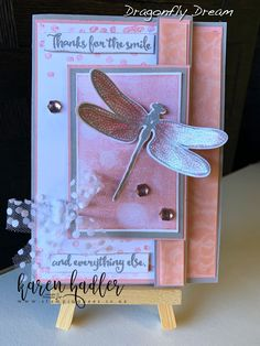 Dragon Fly Dreams this stunning stamp set is soon to be discontinued be in quick to make sure you don't miss out contact me to oredr your set Valentine Greeting Cards, Christmas Gift Box, Coordinating Colors, Ink Pads, Stamping Up, Homemade Cards, Stampin Up Cards, Thank You Cards, Cardmaking