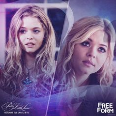 Pretty Little Liars - Alison DiLaurentis Flashback + Flash forward. Don't miss the PLL winter premiere Tuesday, January 12 gif