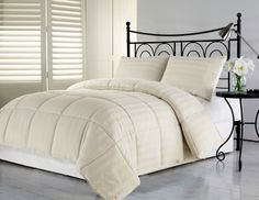 Chezmoi Collection 3-Piece Tan Hotel Dobby Stripe Down Alternative Comforter Set Full/Queen Chezmoi Collection http://www.amazon.com/dp/B00DSSVTC4/ref=cm_sw_r_pi_dp_B.1.tb0A701K1