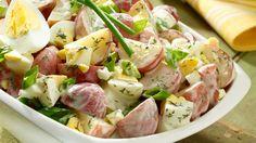 Wish-Bone® Creamy Ranch Potato Salad Ranch Potato Salad, Potato Salad Dill, Potato Salad Mustard, Potato Salad Dressing, Potato Salad With Egg, Ranch Potatoes, Healthy Recipes, Veggie Recipes, Cooking Recipes