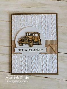 AEstamps a Latte...: Sneak Peek: Cable Knit Dynamic Embossing Folder