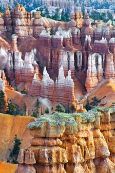 Hoodoo Formations in Bryce Canyon National Park Photographic Print by Jaynes Gallery Bryce Canyon, Grand Canyon, Canyon Utah, National Park Posters, Zion National Park, National Parks, Cool Places To Visit, Places To Travel, Travel Destinations