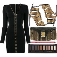 street style by sisaez on Polyvore featuring Balmain, Tom Ford, Forever 21 and Charlotte Russe