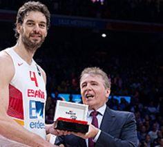 #EuroBasket2015: Pau Gasol, MVP de l'Euro - vidéo