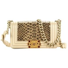 bb61917cb05 Get one of the hottest styles of the season! The Chanel Python Boy Shoulder  Bag is a top 10 member favorite on Tradesy.