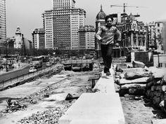 La foto de la semana: Paso elevado Bailén- Ferraz (1969) | Ediciones La Librería