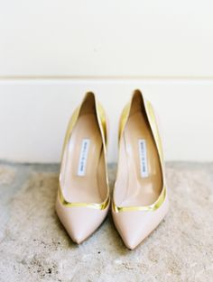 Gold-trimmed: http://www.stylemepretty.com/2015/10/12/our-fave-manolo-blahnik-shoes-for-the-bride/
