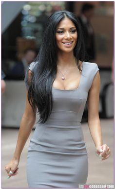 Nicole Sherzinger: love the dress, her hair!