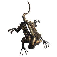 Geco Welding Machine, Steel Sculpture, Light Oak, Sculptures, Brass, Ceiling Lights, Metal, Welding Set, Metals