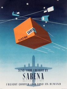 sabena airline ship train