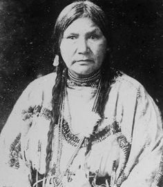 Naomi Little Walker - Blackfoot - circa 1900