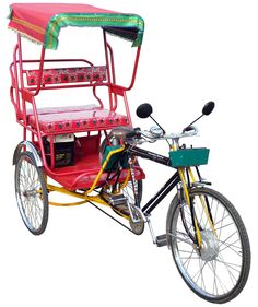 1RPB Rickshaw Passenger Battery operated (Set of Batteries extra)