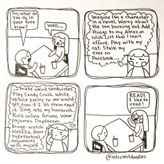 Introvert Doodles: Hobbies - LOL